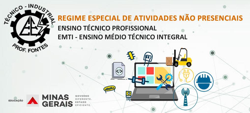 REGIME ESPECIAL DE ATIVIDADES NÃO PRESENCIAIS